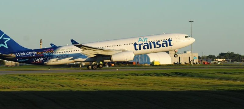 Air rase it offer for the acquisition of Transat A. T.
