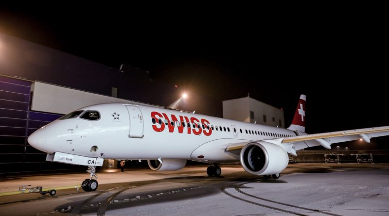 SWISS as grounded its A220 fleet