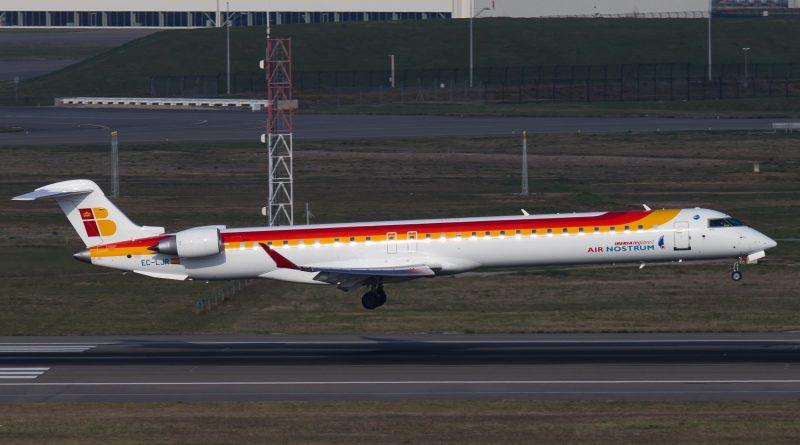 CRJ 100 d'AIr Nostrum