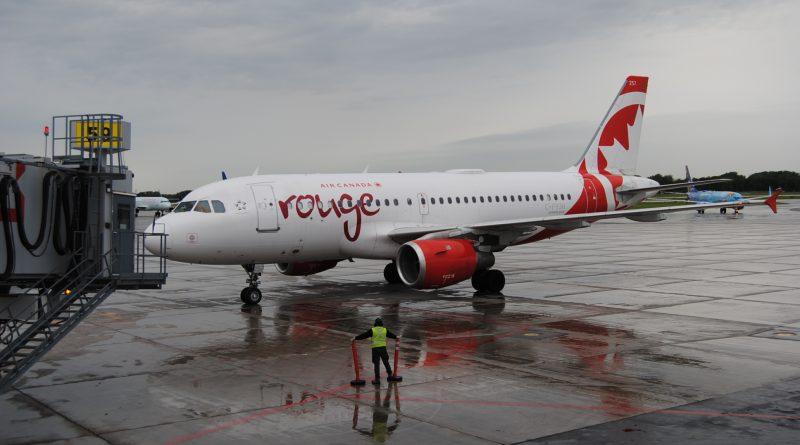 A319 de Rouge à Montréal-Trudeau