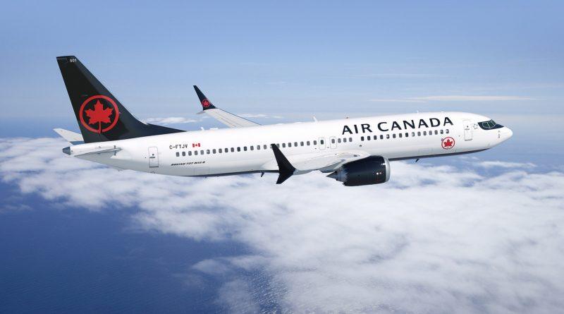 Air Canada's B737-MAX8
