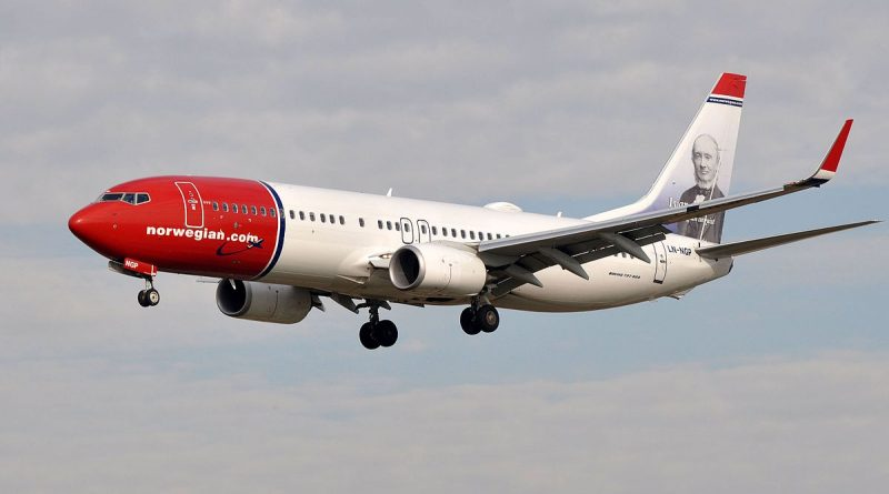 B737-800 de Norwegian