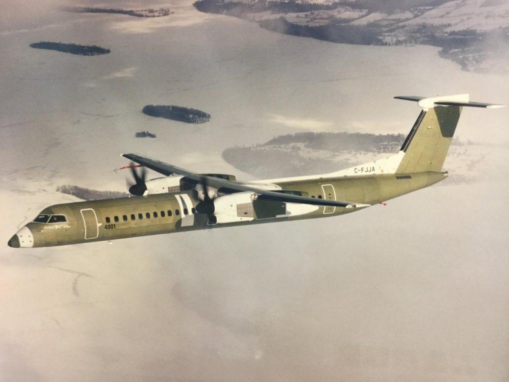 Vol d'essai premier Q400