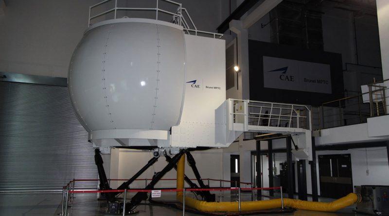 Le simulateur de vol S-92 de Série CAE 3000 au centre MPTC de CAE Brunei