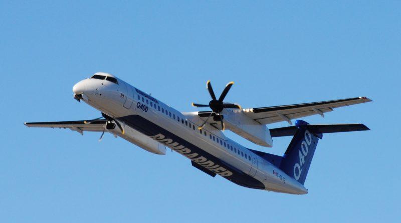 Bombardier Q400 à CYUL