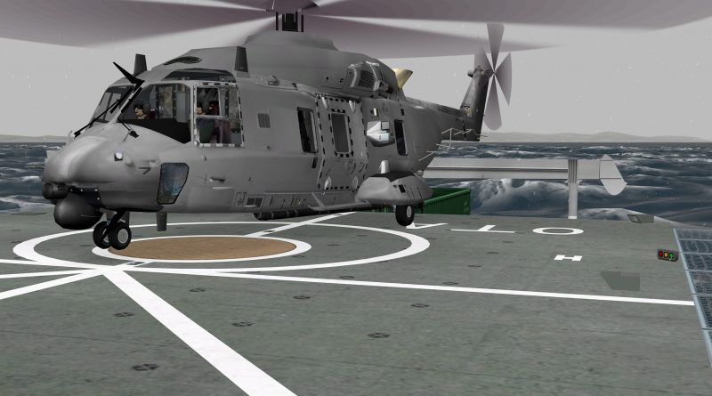 The new CAE 700MR Series NH90 FTD