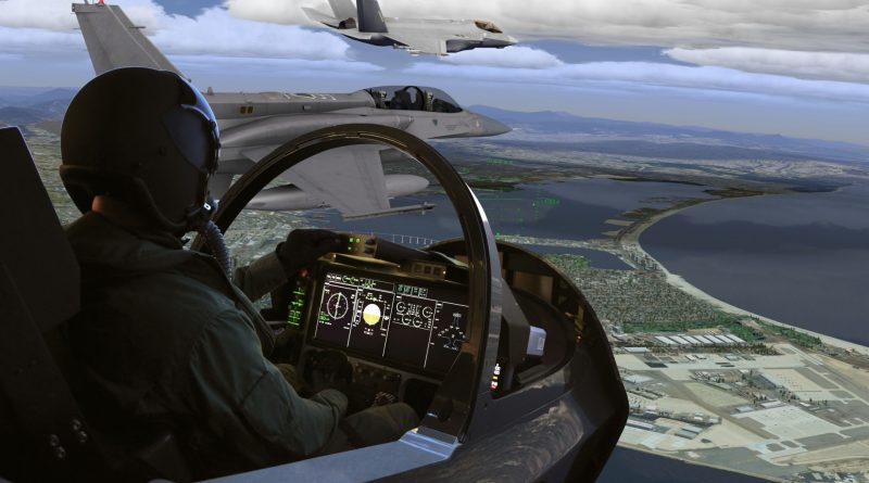 CAE Medallion MR e Series Cockpit vue