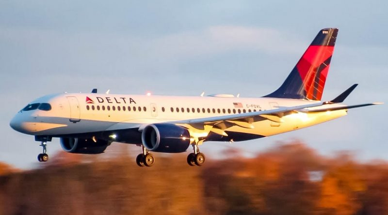 Delta Airlines A220-100