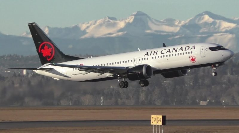 Air Canada doing some flight test with the MAX?