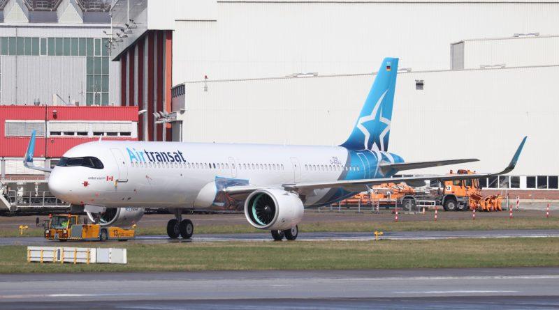 Air Transat first A321LR