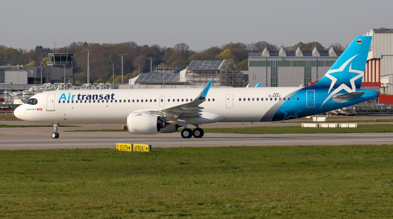Air Transat first A321LR
