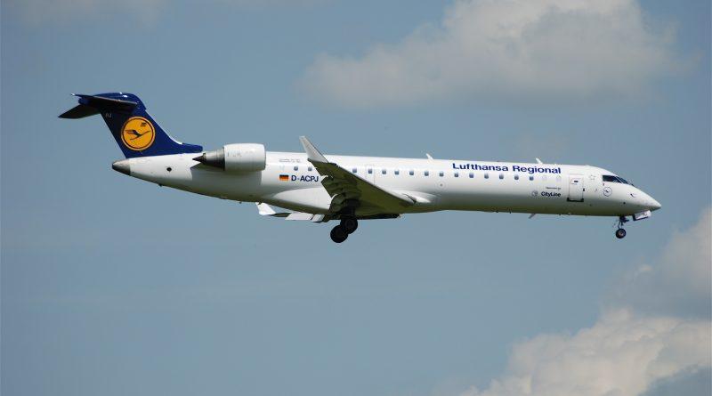 CRJ100 Lufthansa CityLine