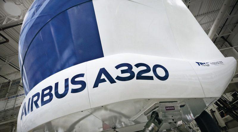 TRU A320 simulator