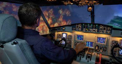 TRU CL-415 simulator