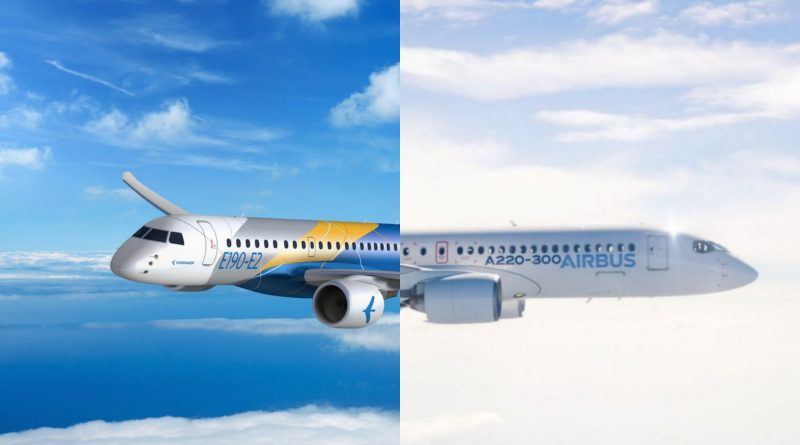 A220-E2 are on two different trajectories