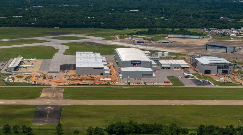 Airbus is beginning the assembly of the first A220 in Mobile