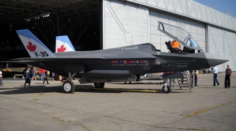 Canada will buy the Lockheed Martin F-35 Canada