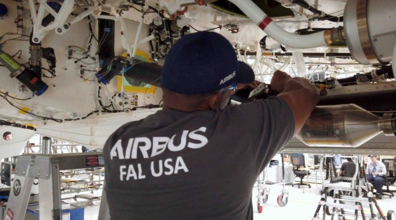 Incident at Airbus FAL in Mobile