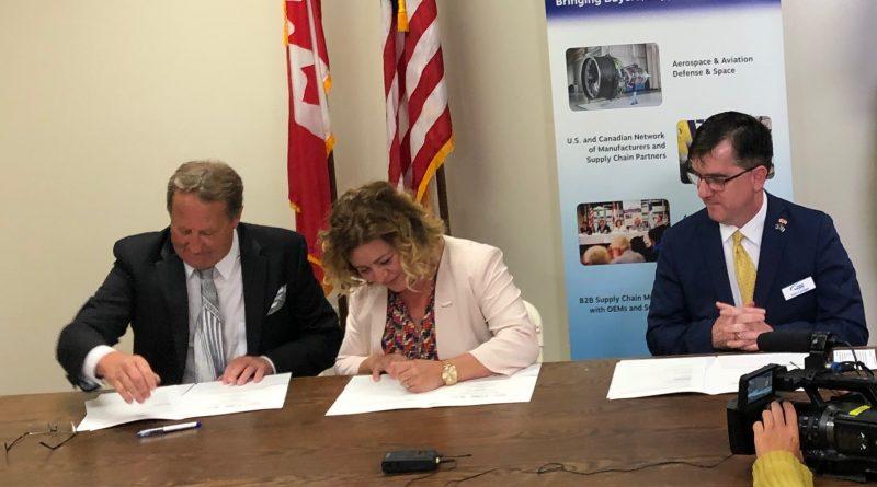AeroMontreal sign a MoU to establish the Quebec New-England corridor