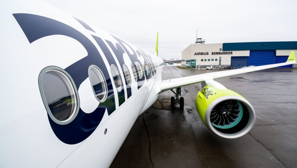 Air Baltic's 21th A220-300 before first flight