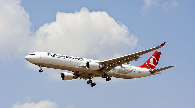 Turkish Airline best airline to Europe