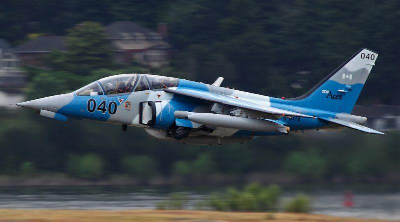 Top Aces Alpha jet
