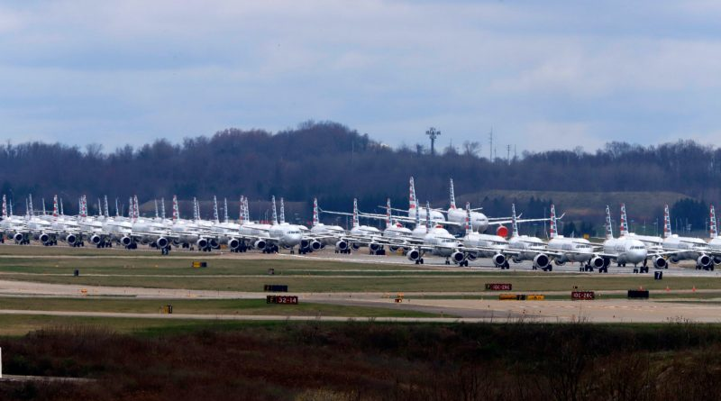 COVID-19 stored planes