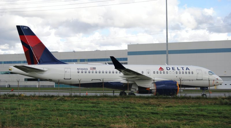 Delta Airlines Airbus A220-100